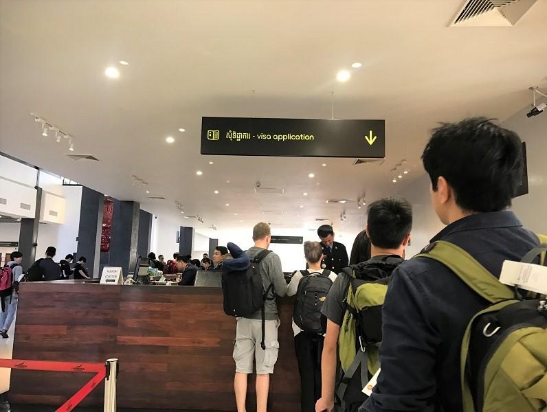 カンボジアのアライバルビザ事情と 日本から行く場合の注意点。