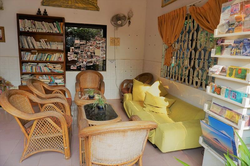 カンボジア・シェムリアップでの、宿泊中のゲストハウスについて。
