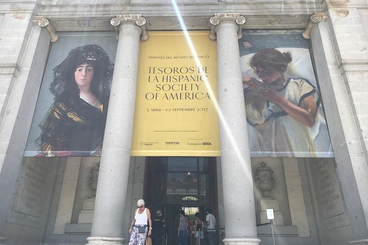 マドリードにある有名美術館を2軒まわって、何ともアートな2日間を過ごす。