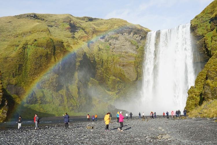 アイスランドの、勝手に好きなオススメ滝ランキングトップ5