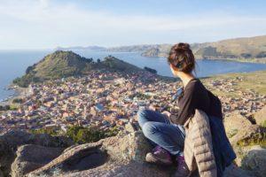 コパカバーナを散策しようー。命がけで登った岩からの眺望。